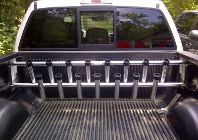 Truck Bed Rod Racks – Anodized Finish