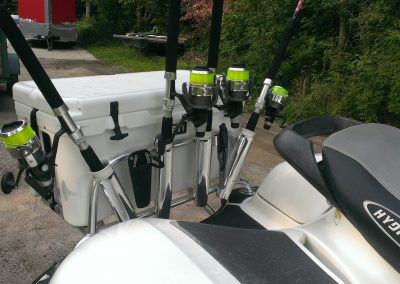 Waverunner Custom Cooler Rack