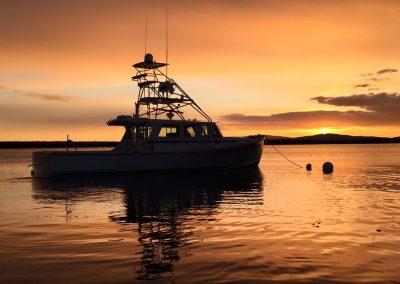 wesmac-tuf-guy-sunset
