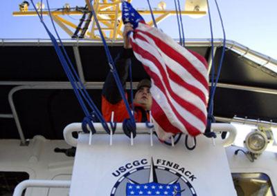 The Coast Guard Cutter Finback